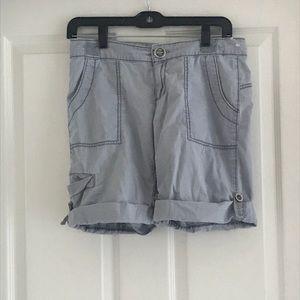 Free People Adjustable Cuff Shorts Sz 4